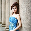 新娘造型-晚禮服_拍婚紗造型照片集J010