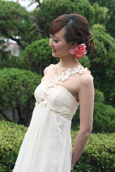新娘造型-晚禮服_拍婚紗造型照片集J012