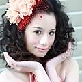 新娘造型-晚禮服_婚紗攝影造型照片集J013