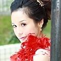 新娘造型-晚禮服_婚紗攝影造型照片集J014