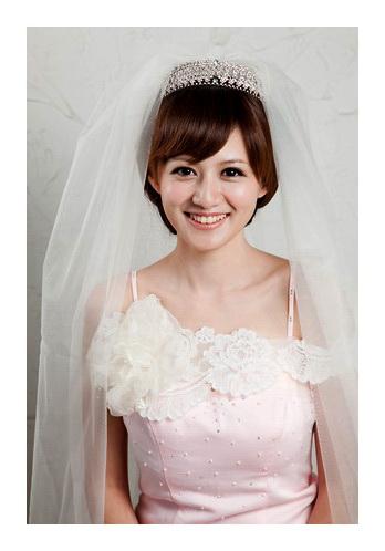 新娘造型-白紗_拍婚紗造型照片集E009