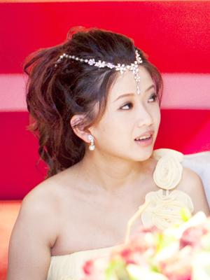 新娘造型-晚禮服_結婚敬酒造型照片集F014
