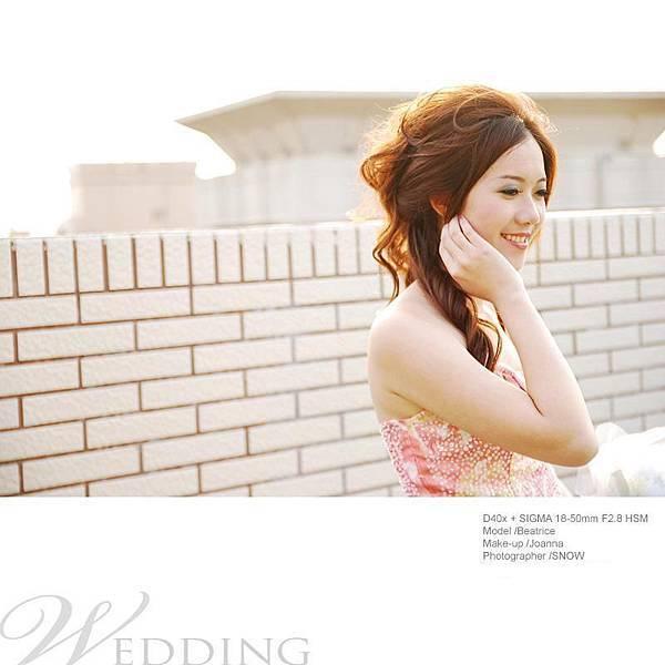 新娘造型-晚禮服_拍婚紗造型照片集J015