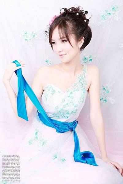 新娘造型-晚禮服_拍婚紗造型照片集J016