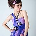 新娘造型-晚禮服_拍婚紗造型照片集J018