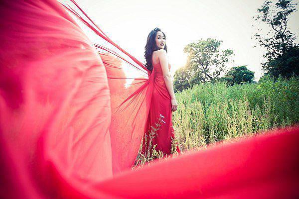 新娘造型-晚禮服_婚紗攝影造型照片集J020