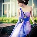 新娘造型-晚禮服_婚紗攝影造型照片集J021