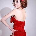 新娘造型-晚禮服_結婚宴客造型照片集F016