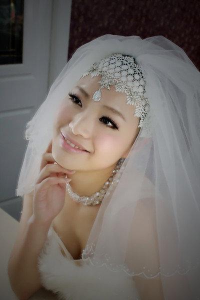 新娘造型-白紗_婚紗攝影造型照片集E017