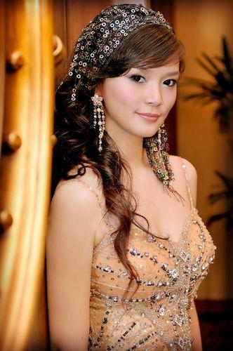 新娘造型-晚禮服_結婚宴客造型照片集F020