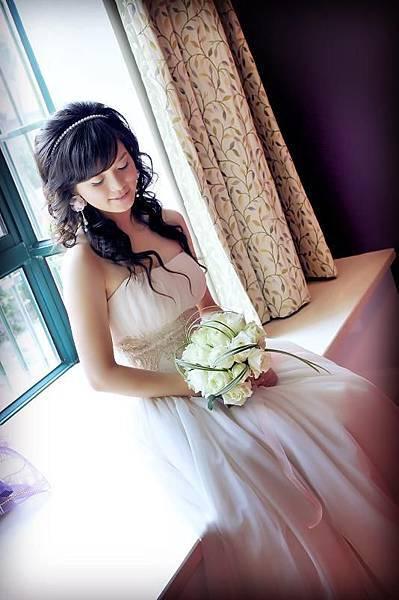 新娘造型-白紗_婚紗攝影造型照片集E018