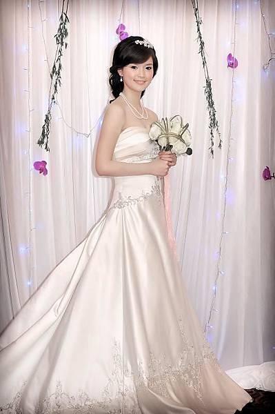 新娘造型-白紗_婚紗攝影造型照片集E019