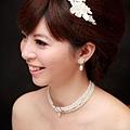 新娘造型-白紗_訂婚造型A025