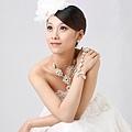 新娘造型-白紗_婚紗攝影造型照片集E021