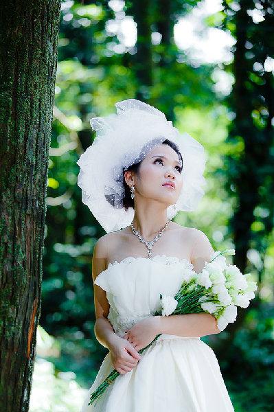 新娘造型-白紗_拍婚紗造型照片集E022