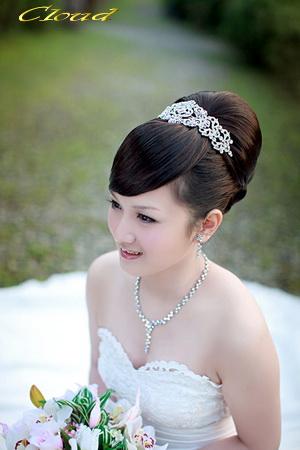 新娘造型-白紗_拍婚紗造型照片集E023
