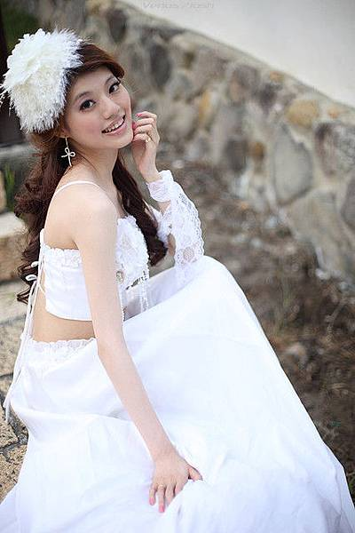 新娘造型-白紗_拍婚紗造型照片集E024