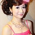 新娘造型-晚禮服_敬酒造型F021