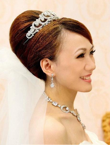 新娘造型-白紗_迎娶造型A027