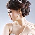 新娘造型-白紗_結婚造型A028