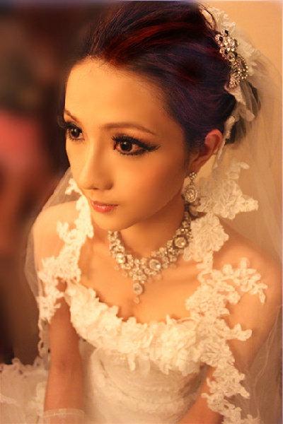 新娘造型-白紗_桃園新娘秘書照片集B014