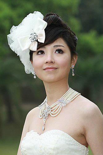 新娘造型-白紗_拍婚紗造型照片集E026