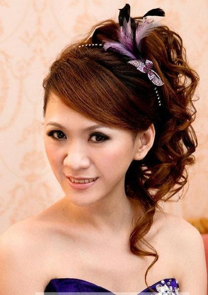 新娘造型-晚禮服_宴客造型F022