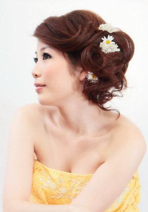 新娘造型-晚禮服_婚紗攝影造型照片集J029