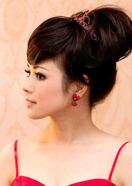 新娘造型-晚禮服_婚紗攝影造型照片集J032