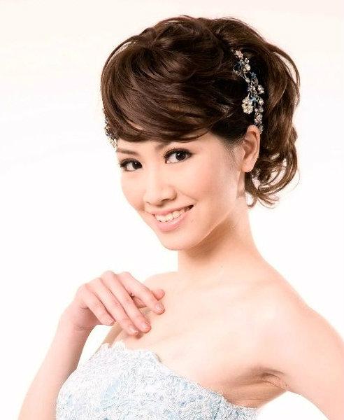 新娘造型-晚禮服_婚紗攝影造型照片集J033