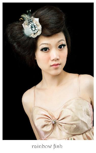 新娘造型-晚禮服_婚紗攝影造型照片集J035