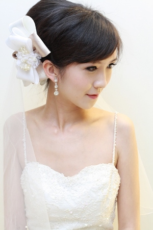新娘造型-白紗_結婚造型A032