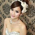 新娘造型-白紗_訂婚造型A035