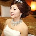 新娘造型-白紗_結婚造型A041