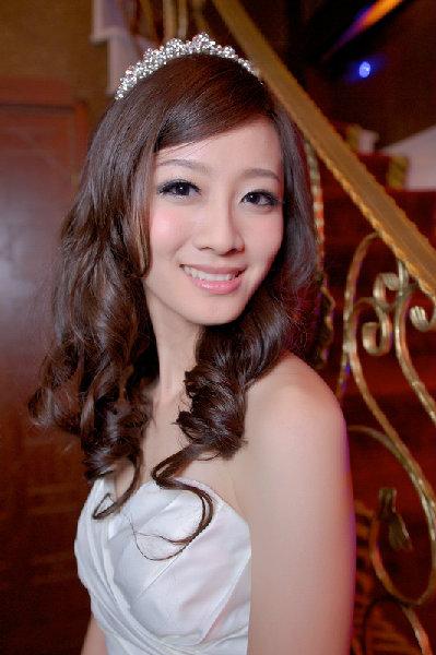 新娘造型-白紗_宴客造型A043