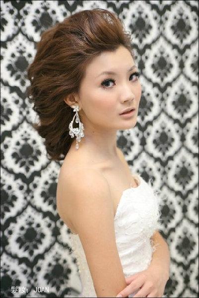 新娘造型-白紗_結婚造型A050