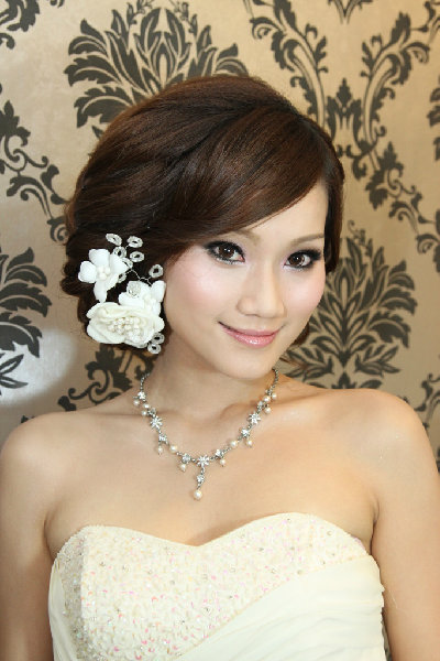 新娘造型-白紗_宴客造型A053