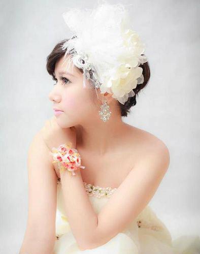 新娘造型-白紗_拍婚紗造型照片集E030