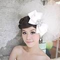 新娘造型-白紗_拍婚紗造型照片集E034