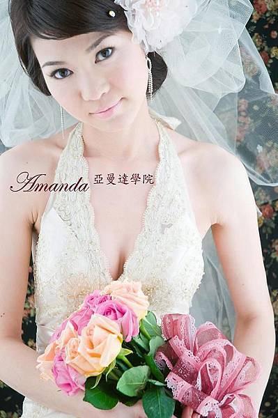 新娘造型-白紗_婚紗拍攝造型照片集E036