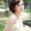 新娘造型-白紗_拍婚紗造型照片集E038