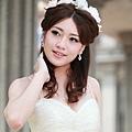 新娘造型-白紗_拍婚紗造型照片集E039