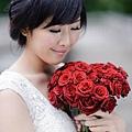 新娘造型-白紗_拍婚紗造型照片集E044