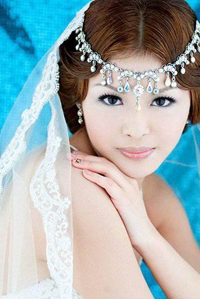 新娘造型-白紗_婚紗拍攝造型照片集E046