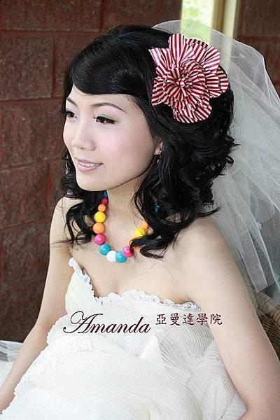 新娘造型-白紗_婚紗拍攝造型照片集E049
