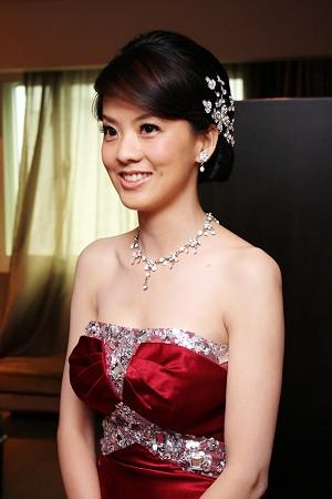 新娘造型-晚禮服_訂婚造型F026