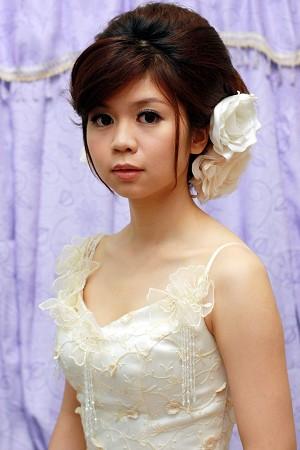 新娘造型-晚禮服_宴客造型F027