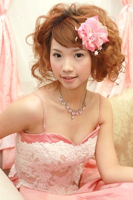 新娘造型-晚禮服_送客造型F028