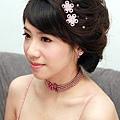 新娘造型-晚禮服_訂婚造型F029