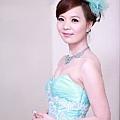 新娘造型-晚禮服_訂婚造型F030